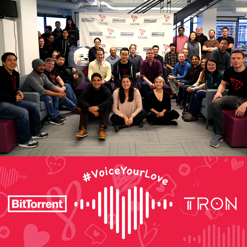 BitTorrent and TRON Team